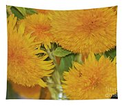 Puffy Golden Delight Tapestry