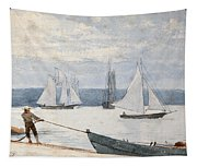 Pulling The Dory Tapestry