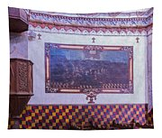Pulpit San Xavier Mission - Tucson Arizona Tapestry