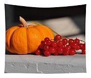 Pumpkin N Berries Tapestry