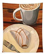 Pumpkin Scone And Pumpkin Latte Tapestry