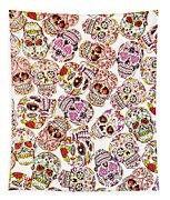 Punk Rock Pattern Tapestry
