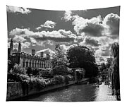 Punting, Cambridge. Tapestry