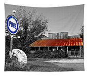 Pure Gas Station Tapestry