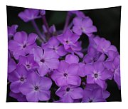 Purple Blossoms Tapestry