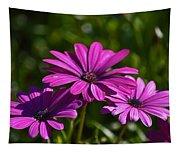 Purple Bouquet Tapestry