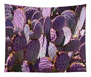 Purple Cacti Tapestry