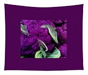 Purple Cauloflower Tapestry