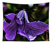 Purple Flower II Tapestry