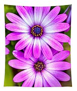 Purple Flowers Tapestry