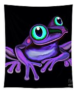 Purple Frog  Tapestry