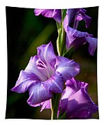 Purple Glads Tapestry