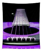 Purple Guitar 15 Tapestry