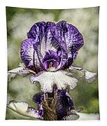 Purple Iris Tapestry