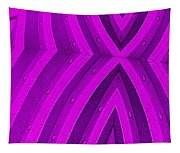 Purple Maze Tapestry