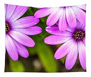 Purple Petals Tapestry