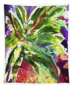 Purple Pineapple Tapestry