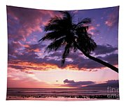 Purple Sunset Tapestry