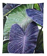 Purple Taro Tapestry