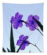 Purple Trio Tapestry