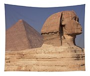Pyramid And Sphinx Tapestry