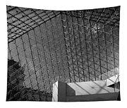 Pyramide Du Louvre Tapestry