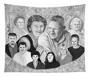 Quade Family Portrait  Tapestry