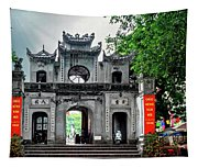 Quan Thanh Temple Gate Tapestry