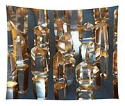 Quartz Crystal Collection Tapestry