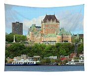 Quebec City Waterfront 6324 Tapestry