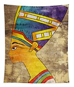 Queen Of Ancient Egypt Tapestry