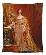 Queen Victoria Taking The Coronation Oath 28 June 1838 Tapestry
