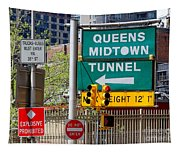 Queens Midtown Tunnel Tapestry