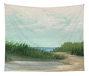 Quiet Beach Tapestry
