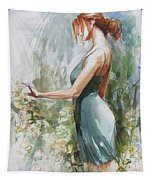 Quiet Contemplation Tapestry