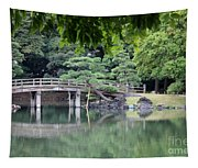 Quiet Day In Tokyo Park Tapestry