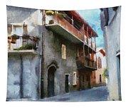 Quiet In Almenno San Salvatore Tapestry