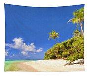 Quiet Tahiti Beach Tapestry