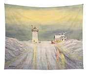 Race Point Lighthouse Provincetown Tapestry