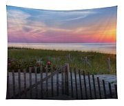 Race Point Sunset Cape Cod 2015 Tapestry