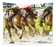 Racetrack Dreams 11 Tapestry