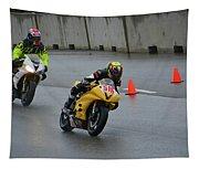 Racing In The Rain Tapestry