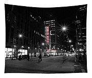 Radio City Colors Tapestry