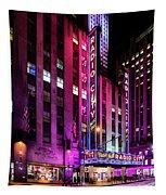 Radio City Music Hall Tapestry by M G Whittingham