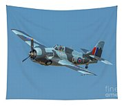 Raf Fm-2 Wildcat Tapestry