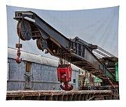 Railroad Crane Tapestry