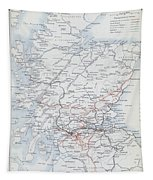 Railways Of Scotland Tapestry