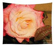 Rain Flower Rose Tapestry