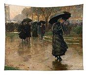 Rain Storm Union Square Tapestry