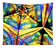 Rainbow Abstract Tapestry